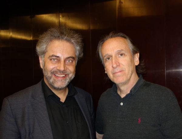 Albert und Michael Landau Gitarrist der J.T. Band