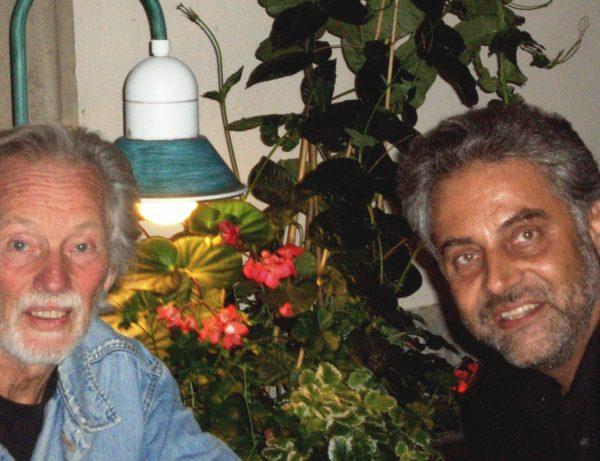 mit Klaus Voormann 2012