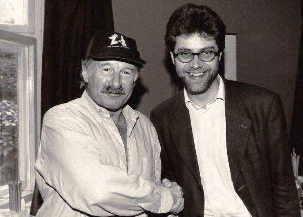 mit Joe Zawinul 1995